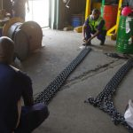 Inspection on lifting equipment